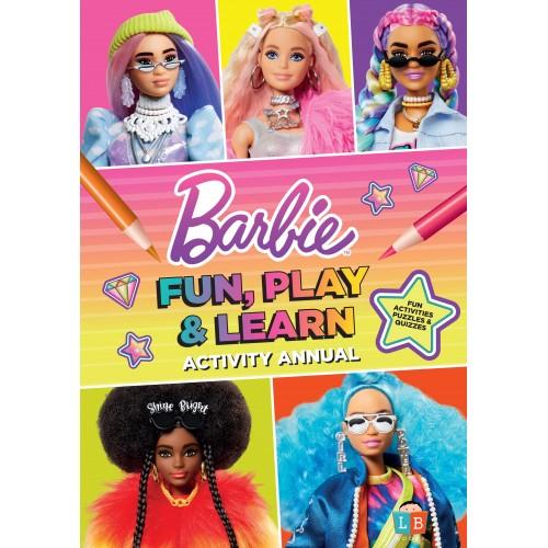Barbie Fun, Play & Learn Activity Annual 2021