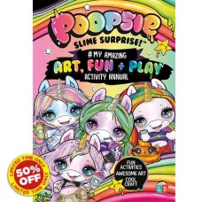 Poopsie Slime Surprise! #My Amazing Art, Fun & Play Activity Annual 20