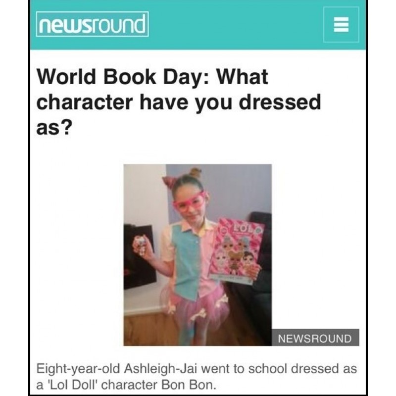 LBB's L.O.L Surprise 2018 Edition inspires on World Book Day